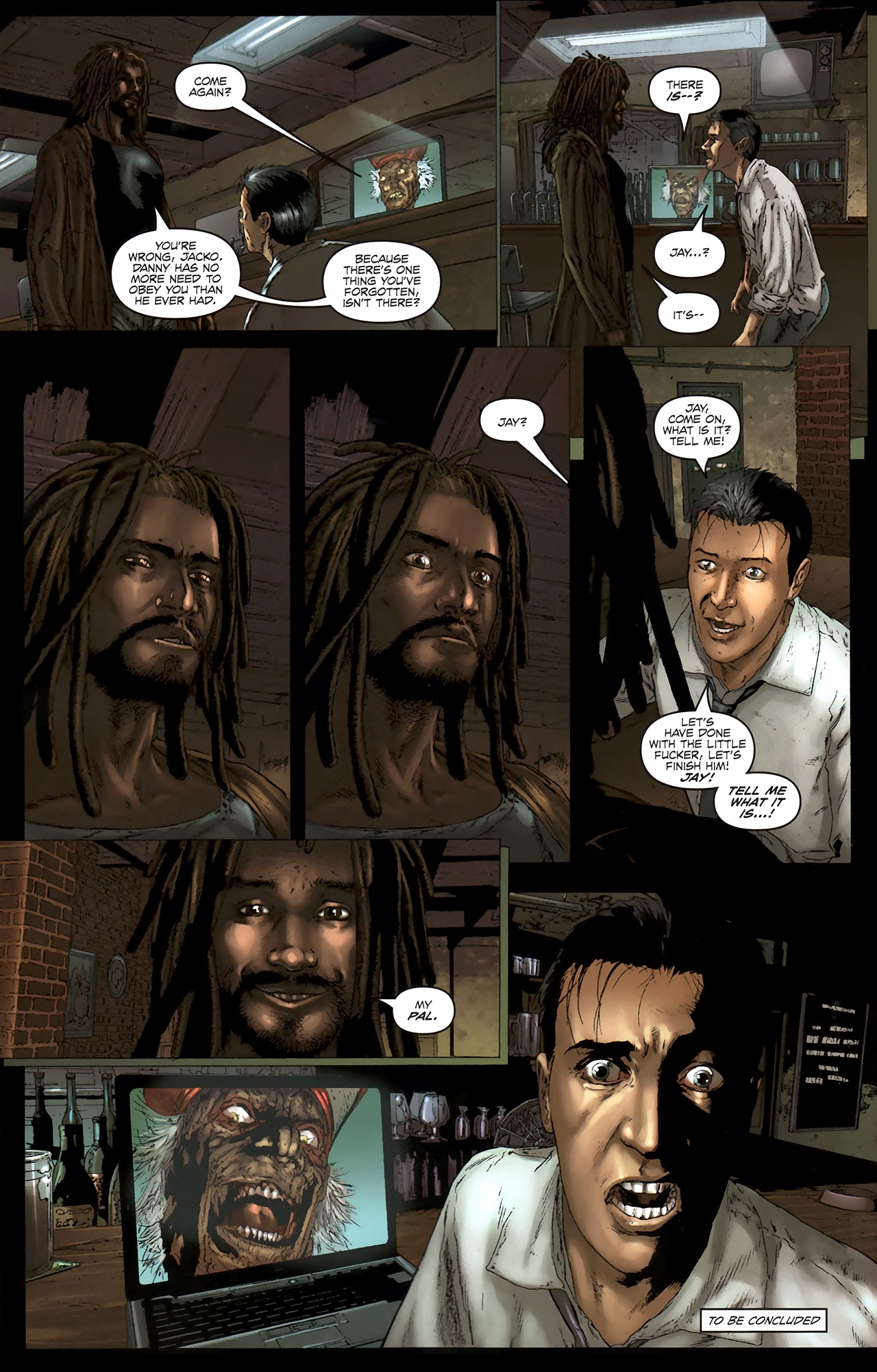 Read online Chronicles of Wormwood: The Last Battle comic -  Issue #5 - 24