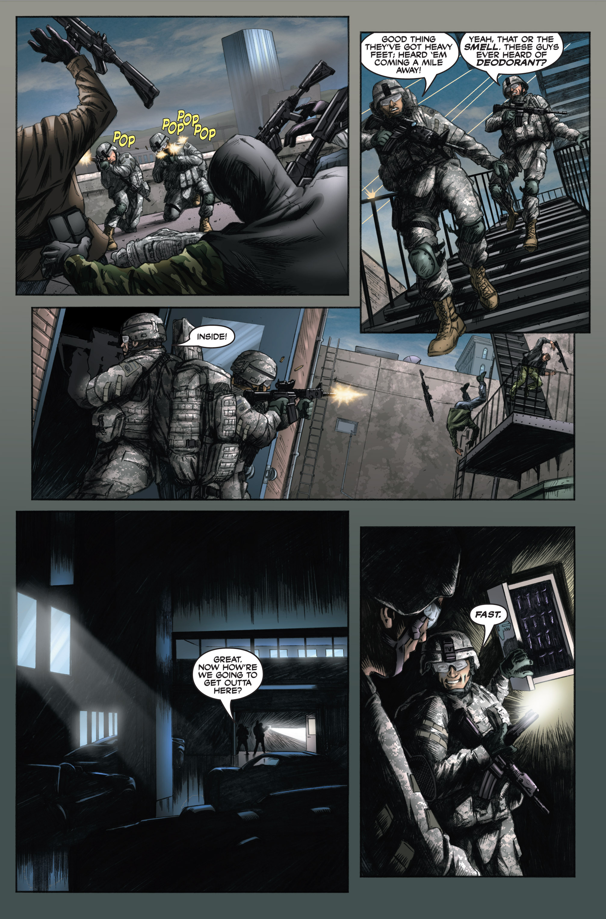 Read online America's Army comic -  Issue #6 - 31