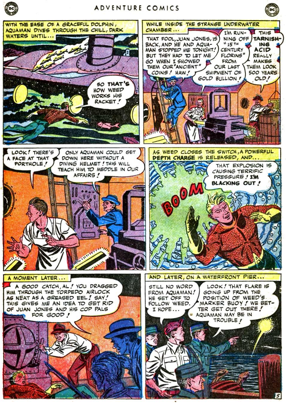 Read online Adventure Comics (1938) comic -  Issue #160 - 21