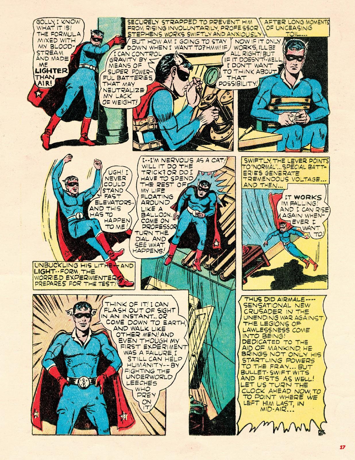 Read online Super Weird Heroes comic -  Issue # TPB 2 (Part 1) - 17
