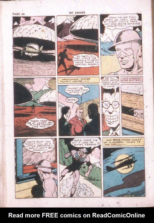 Read online Hit Comics comic -  Issue #24 - 40