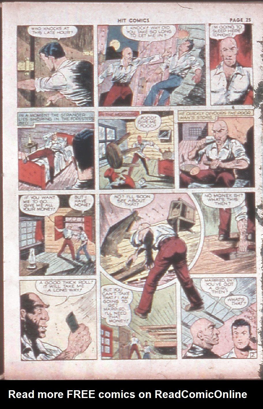 Read online Hit Comics comic -  Issue #8 - 27