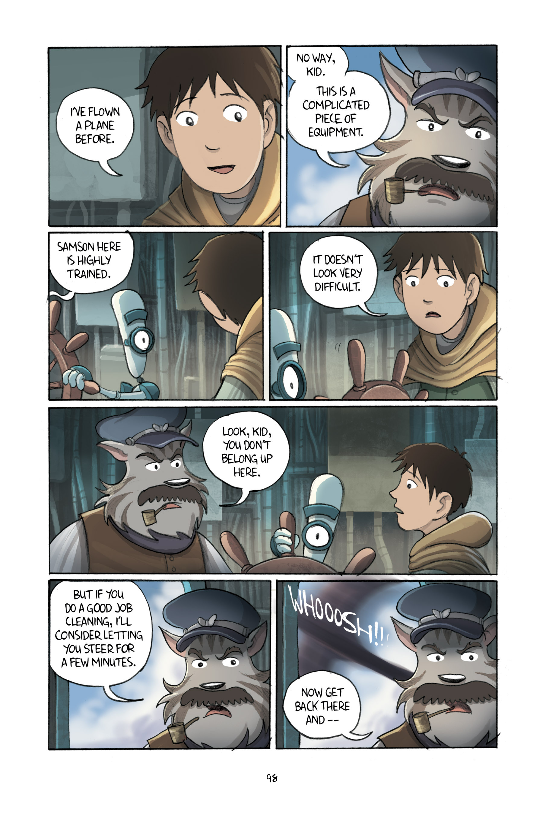 Read online Amulet comic -  Issue #3 - 96