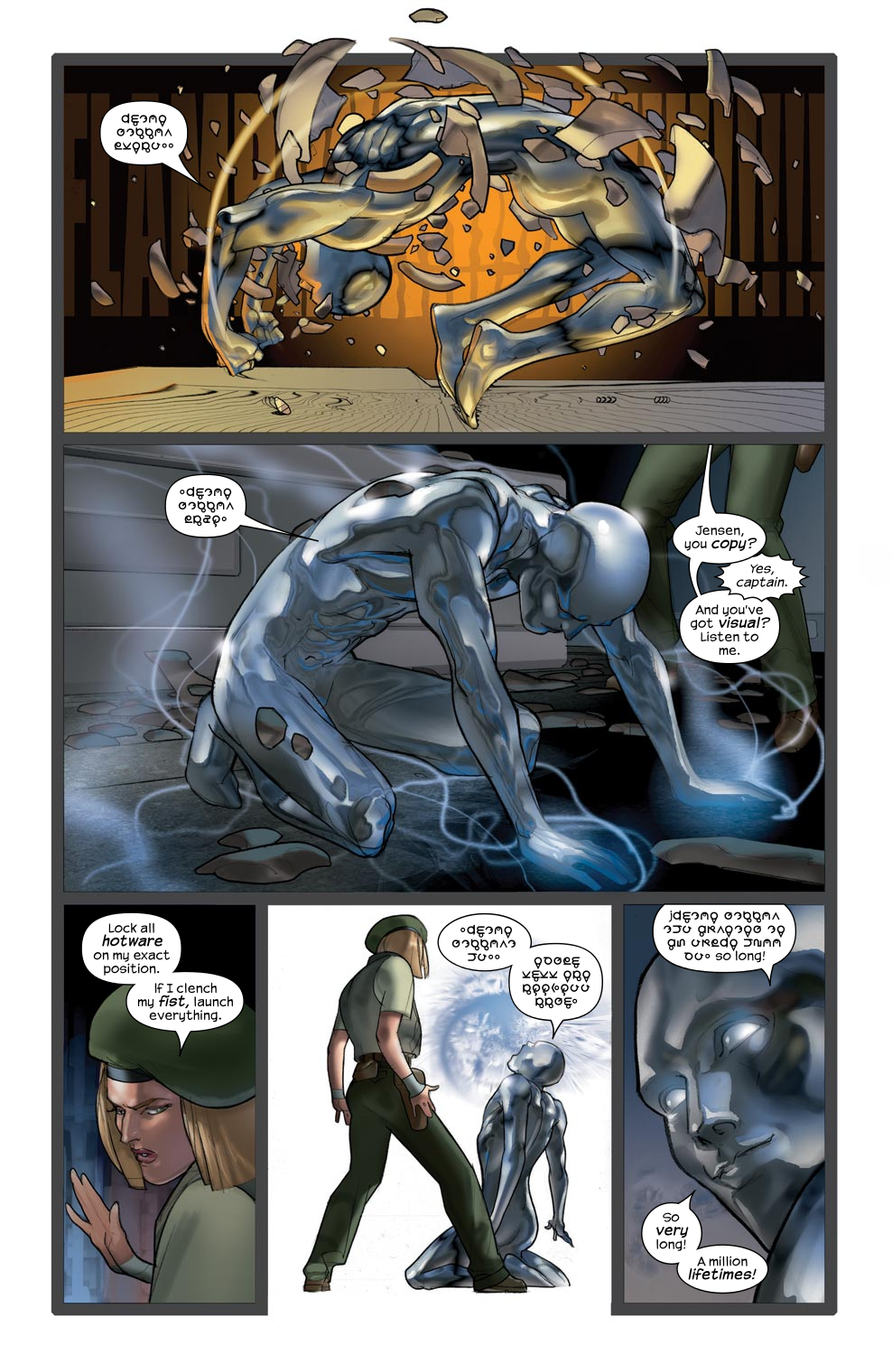 Read online Ultimate Fantastic Four (2004) comic -  Issue #43 - 21