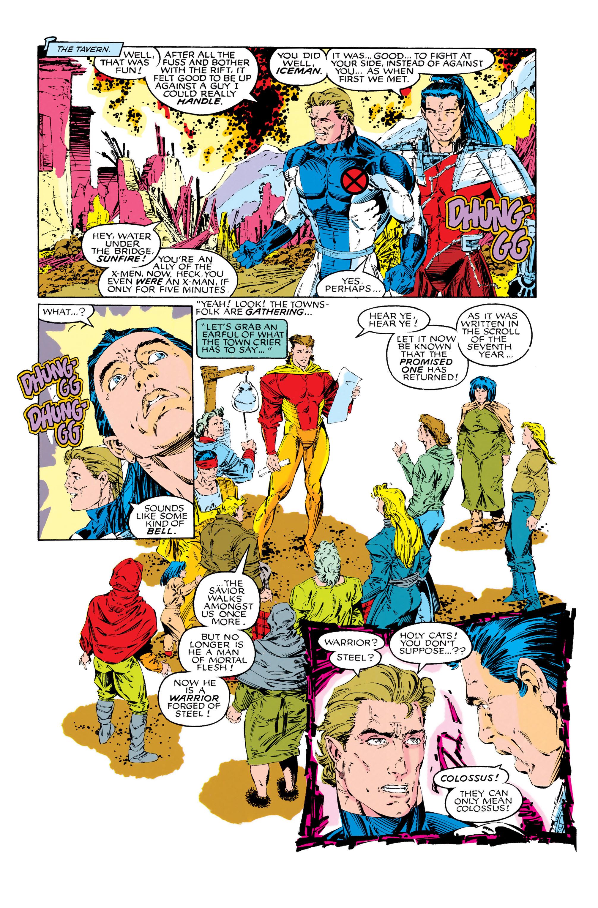 Read online Uncanny X-Men (1963) comic -  Issue #285 - 16