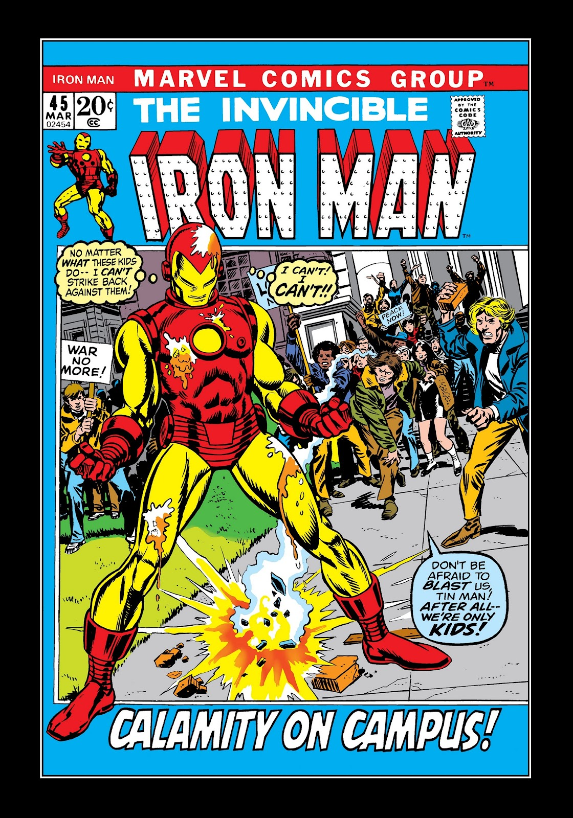 Read online Marvel Masterworks: The Invincible Iron Man comic -  Issue # TPB 8 (Part 2) - 22