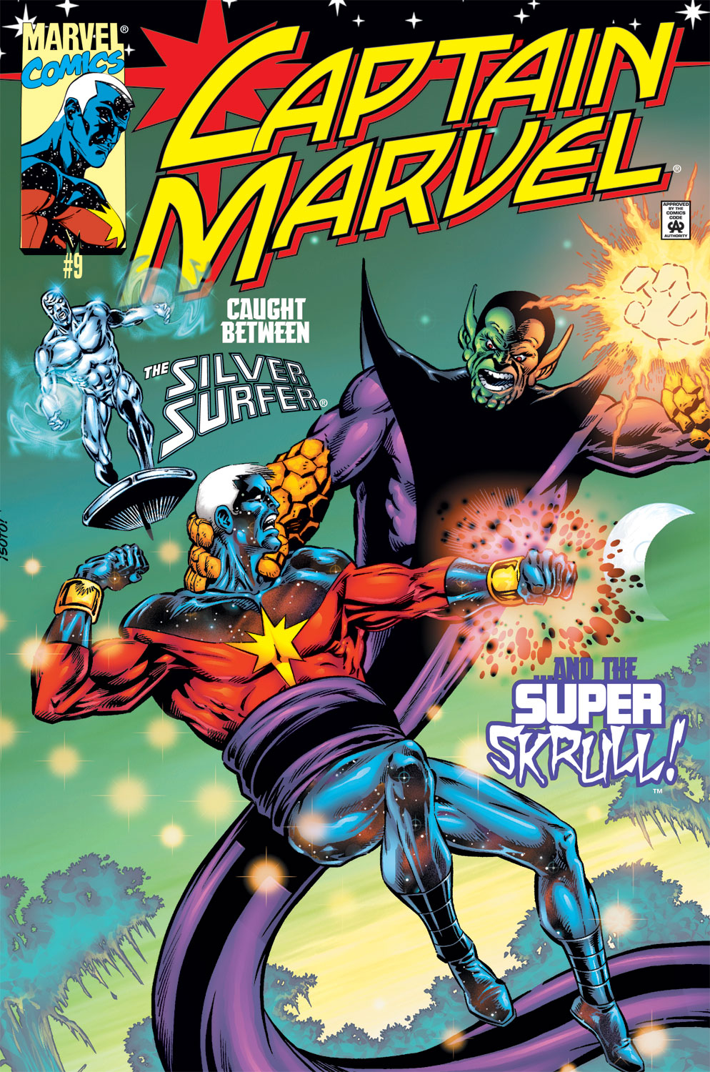 Captain Marvel (1999) Issue #9 #10 - English 1