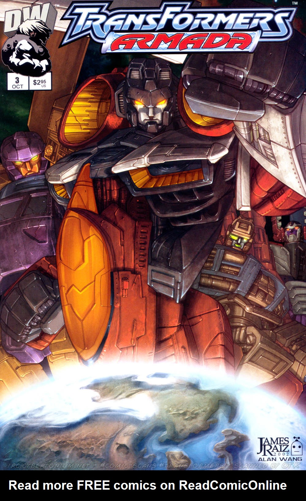 Read online Transformers Armada comic -  Issue #3 - 1