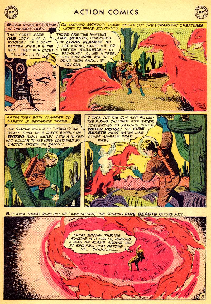 Read online Action Comics (1938) comic -  Issue #244 - 29