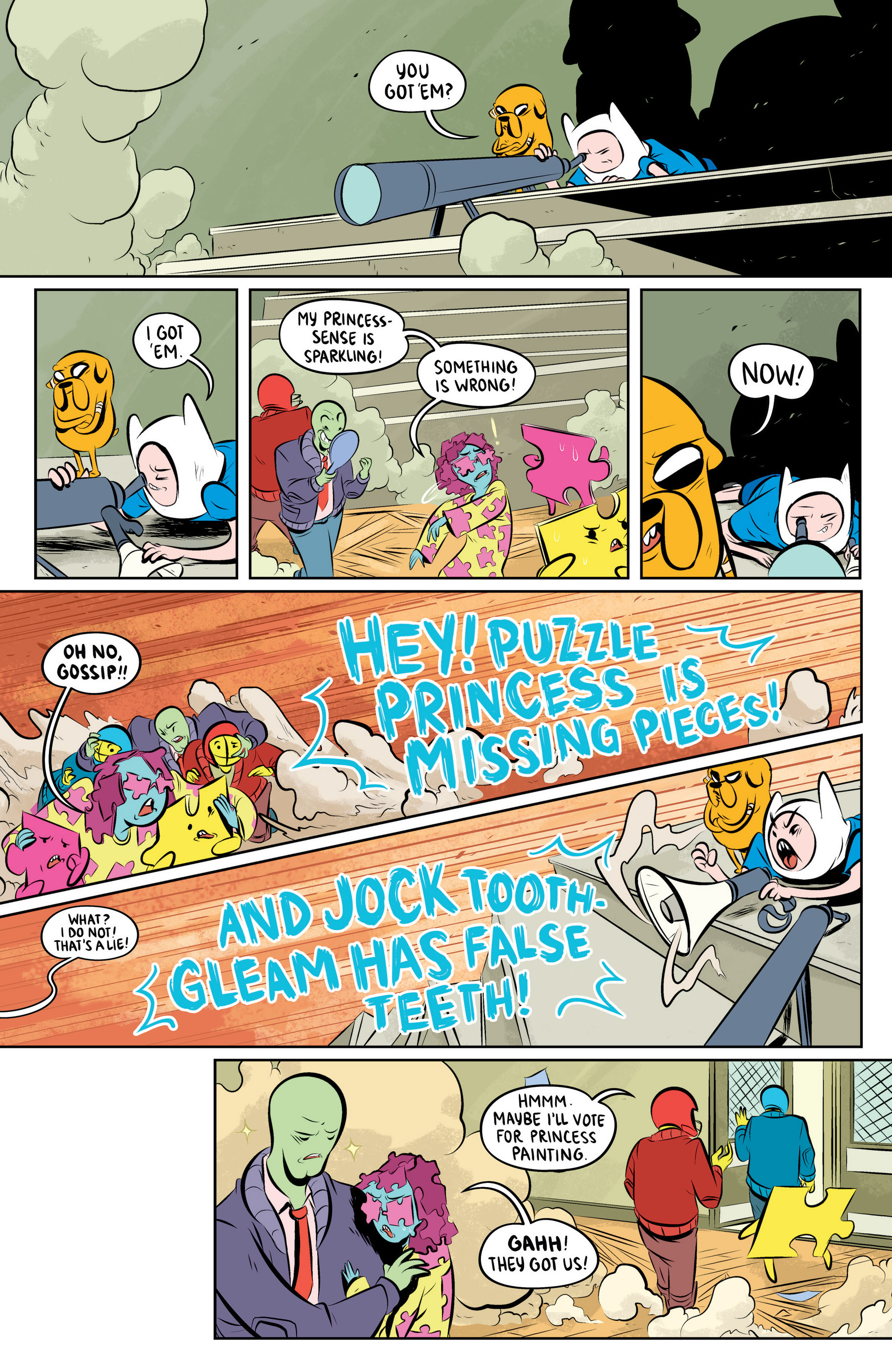 Read online Adventure Time: The Flip Side comic -  Issue #4 - 18
