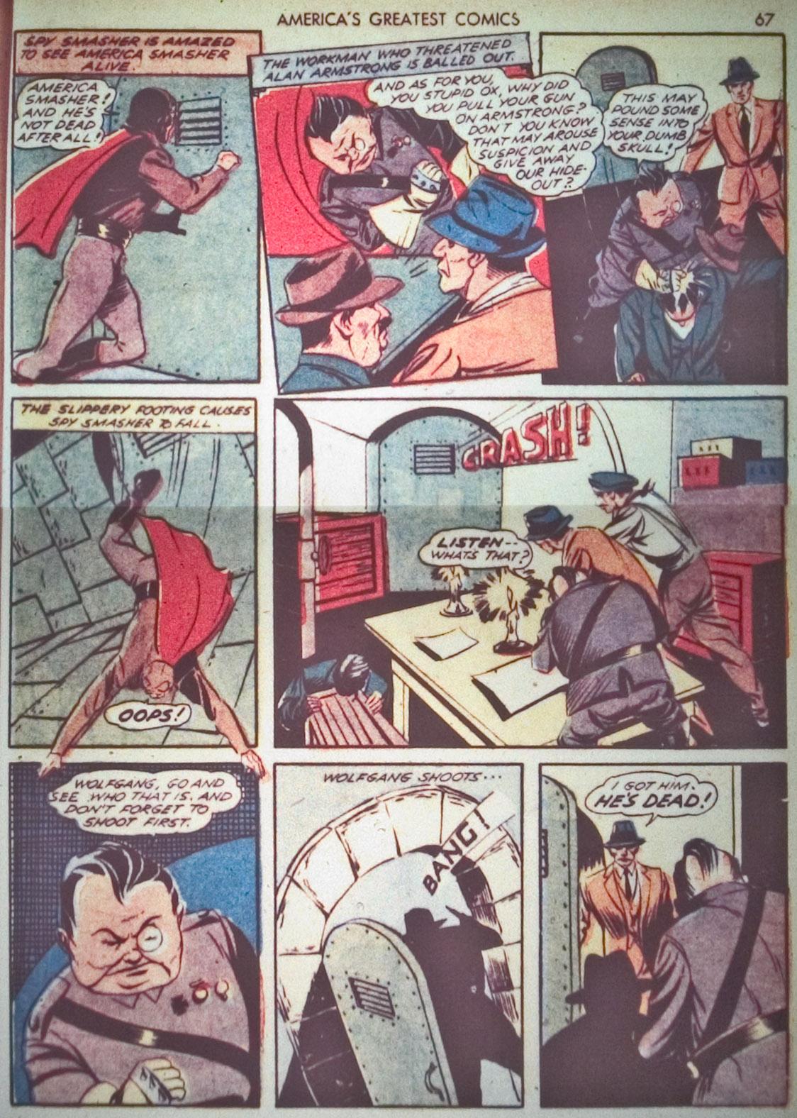 Read online America's Greatest Comics comic -  Issue #1 - 70