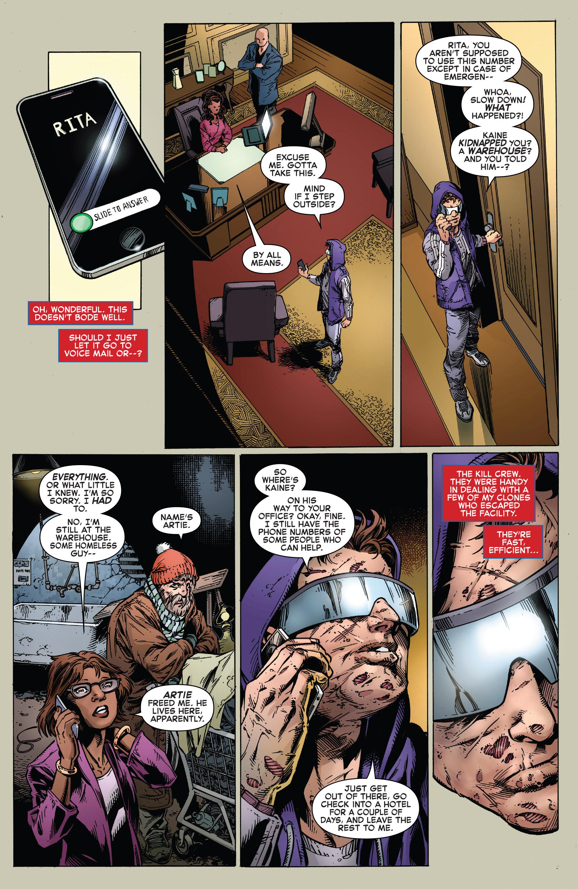Read online Ben Reilly: Scarlet Spider comic -  Issue #3 - 3