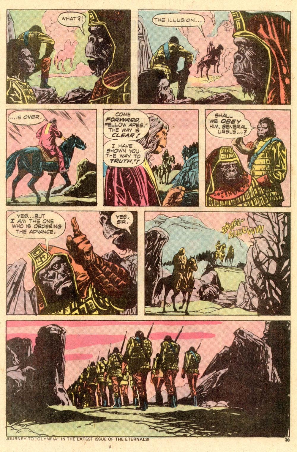Read online Adventures on the Planet of the Apes comic -  Issue #10 - 18