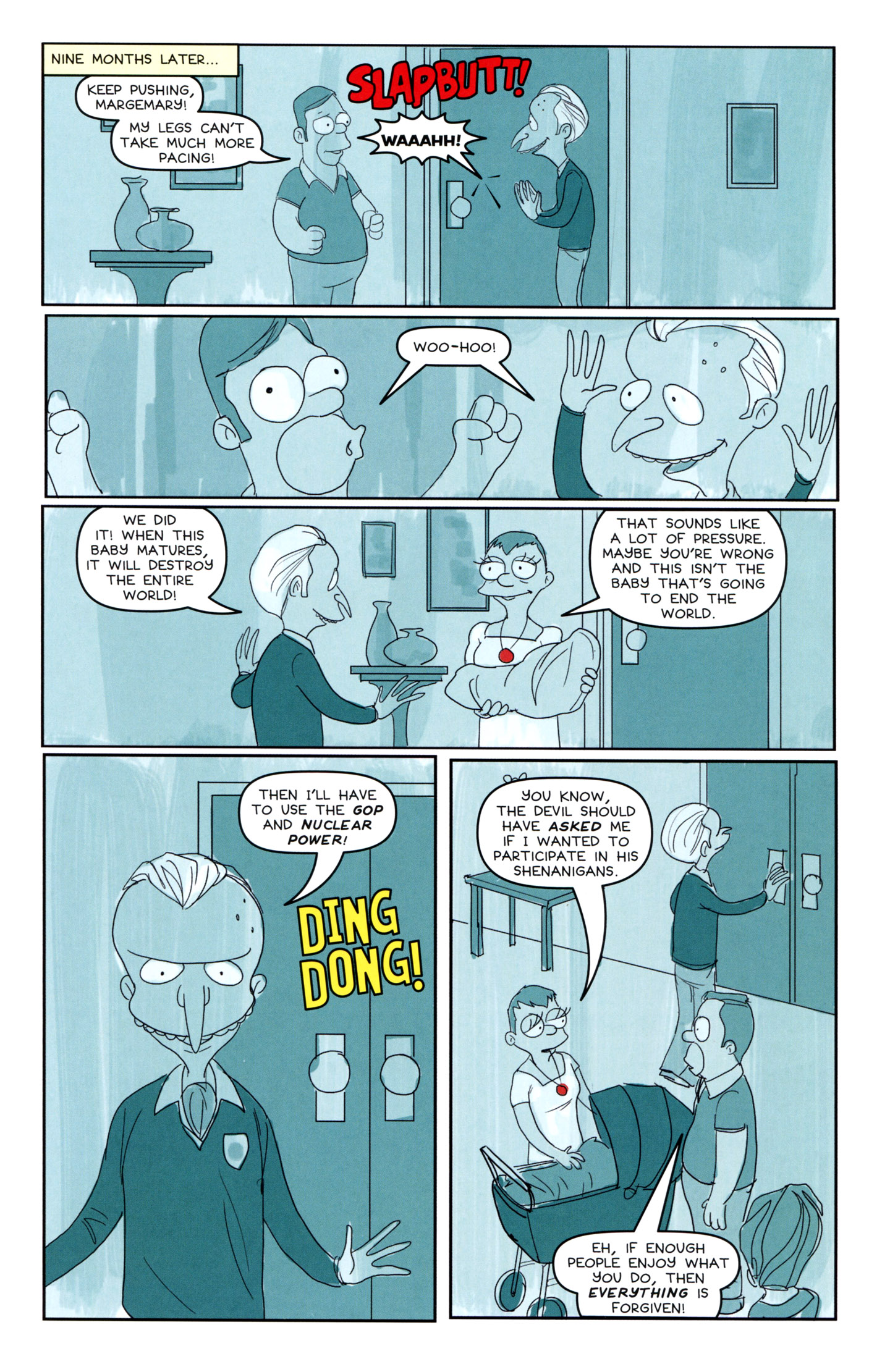 Read online Treehouse of Horror comic -  Issue #18 - 28