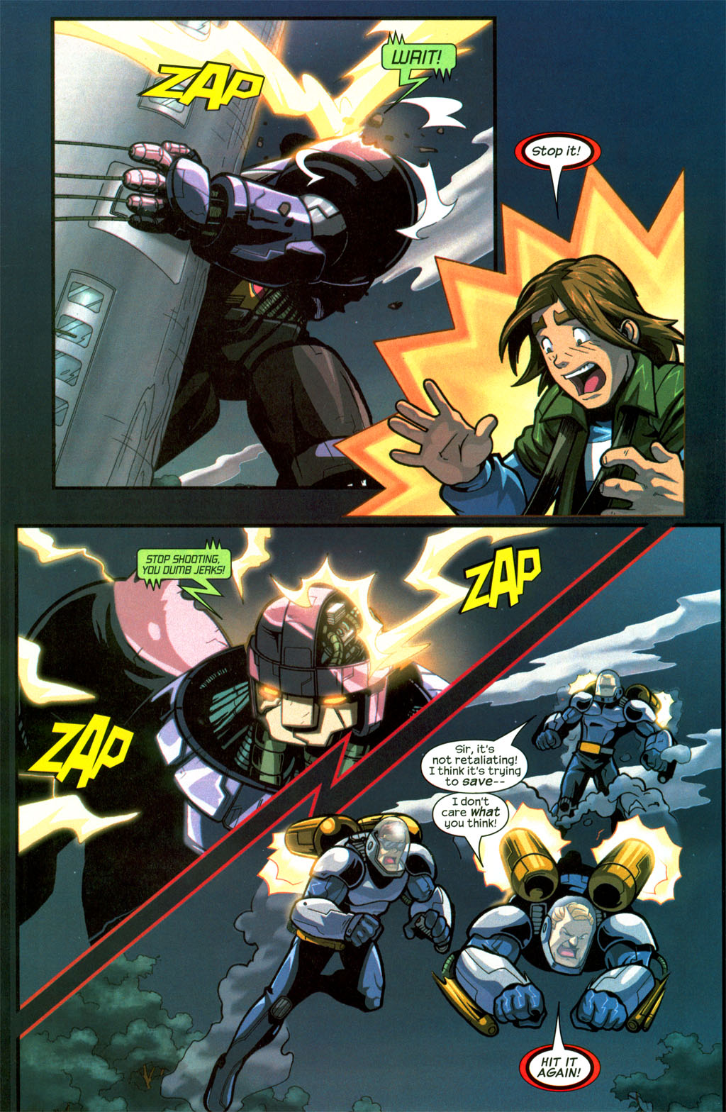 Read online Sentinel comic -  Issue #8 - 22