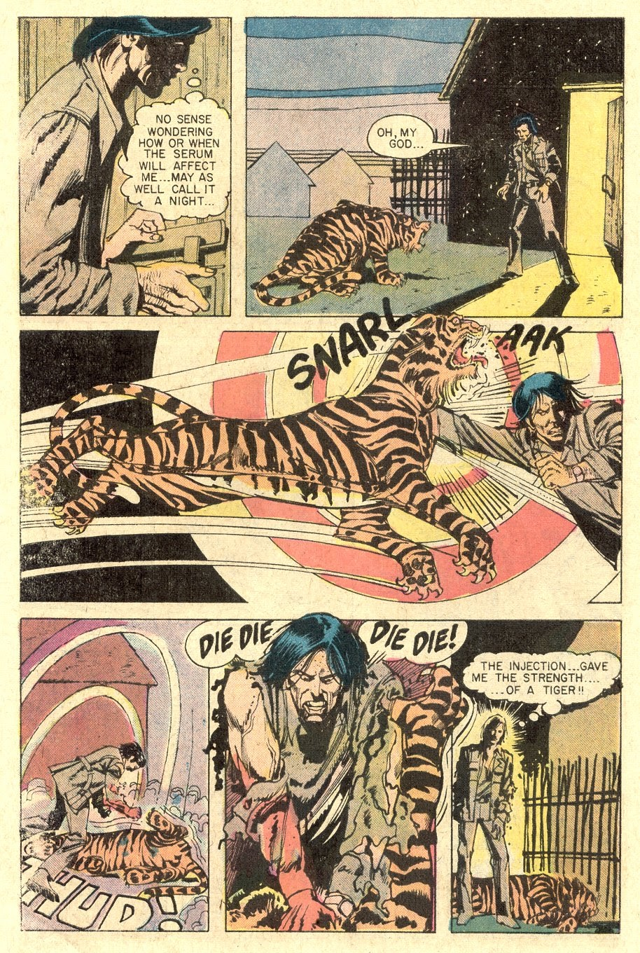 Read online Tiger-Man comic -  Issue #1 - 10