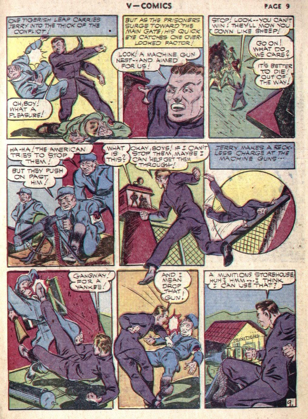 Read online V...- Comics comic -  Issue #1 - 11