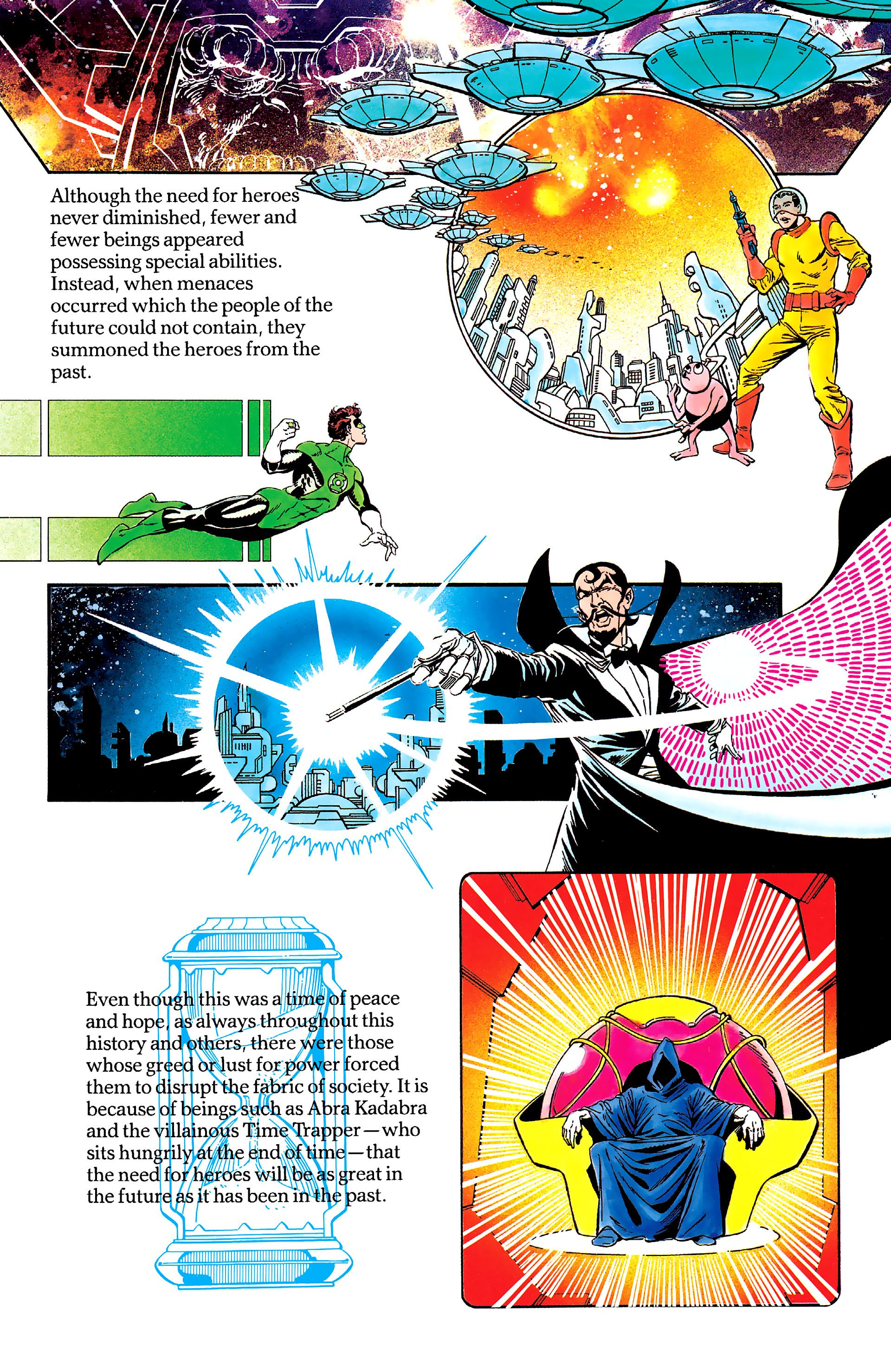 Read online History of the DC Universe comic -  Issue #2 - 47