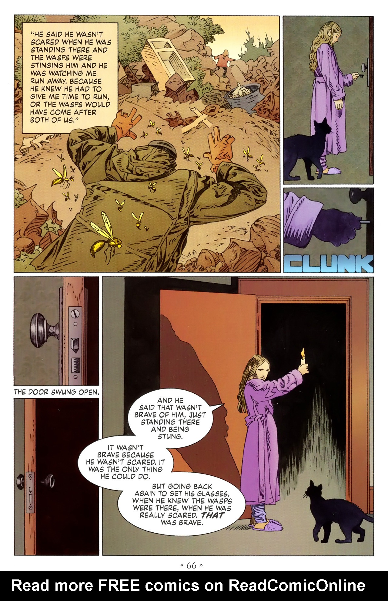 Read online Coraline comic -  Issue #1 - 72