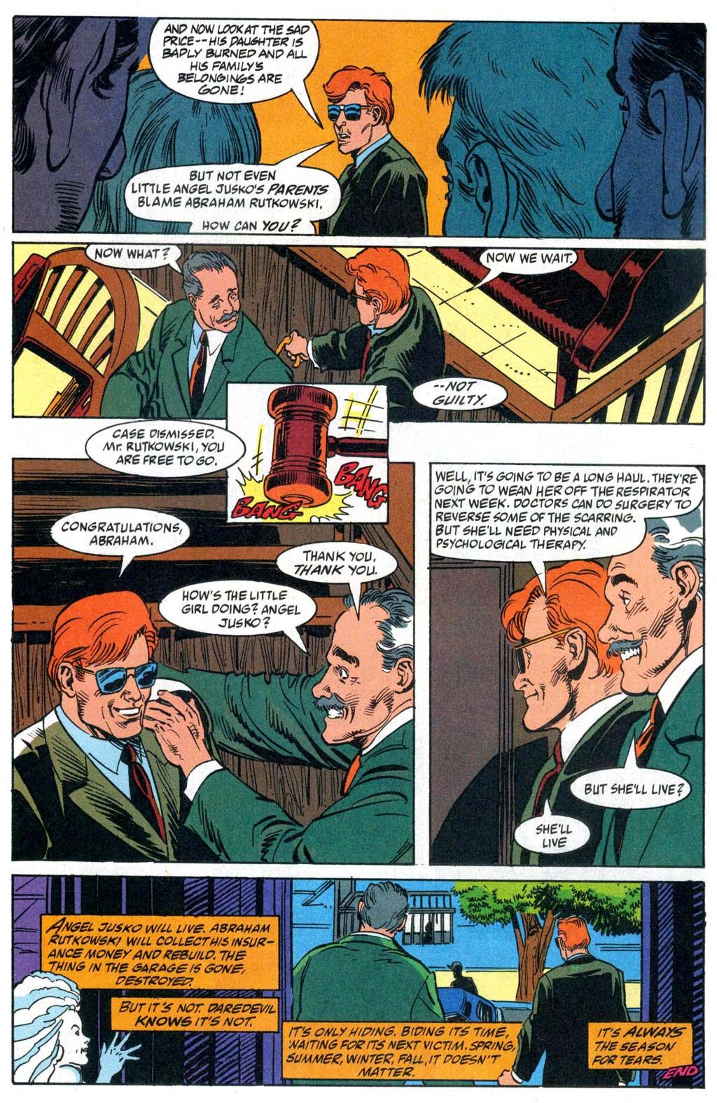 Read online Daredevil vs. Vapora comic -  Issue # Full - 18