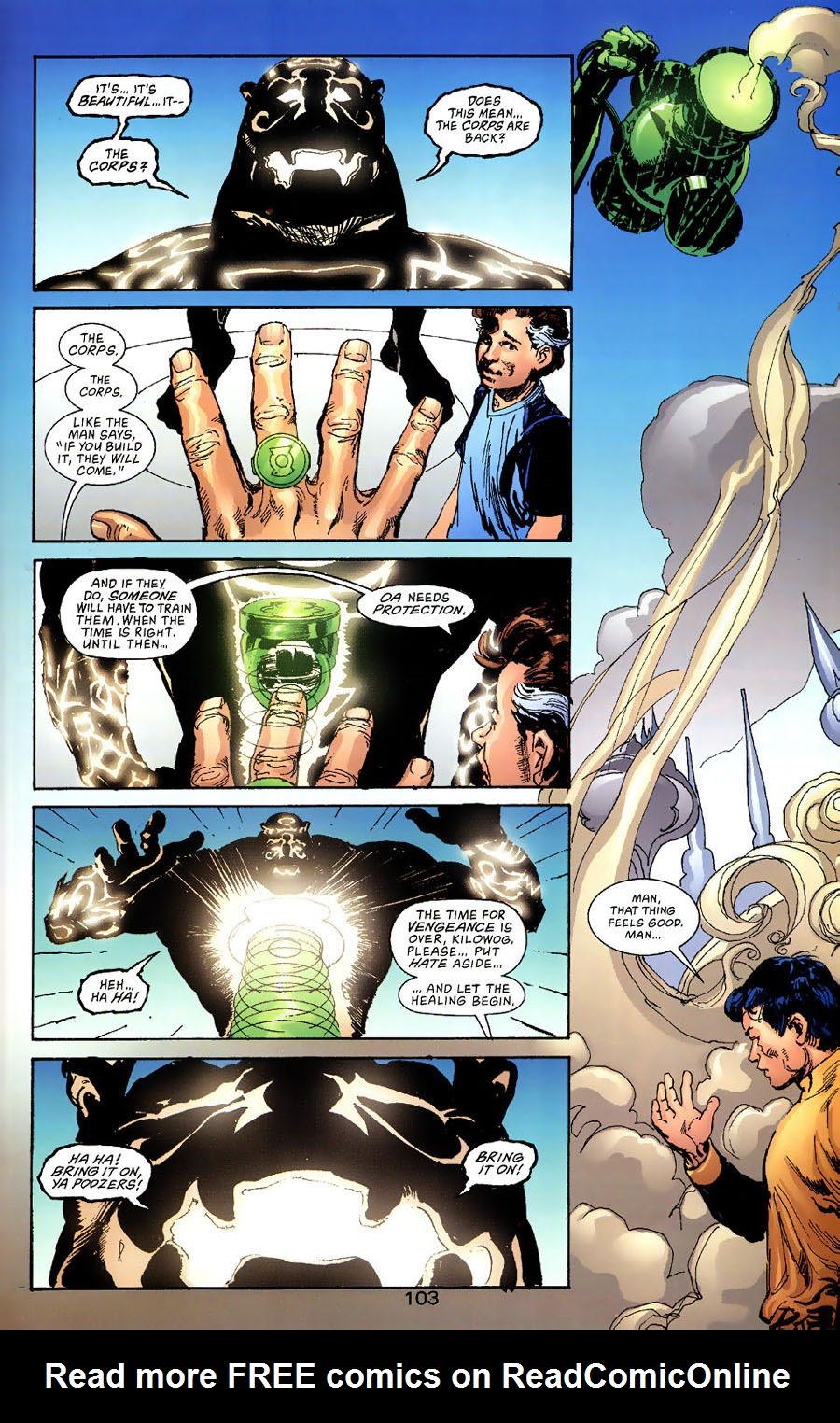 Read online Green Lantern: Legacy: The Last Will and Testament of Hal Jordan comic -  Issue # TPB - 111