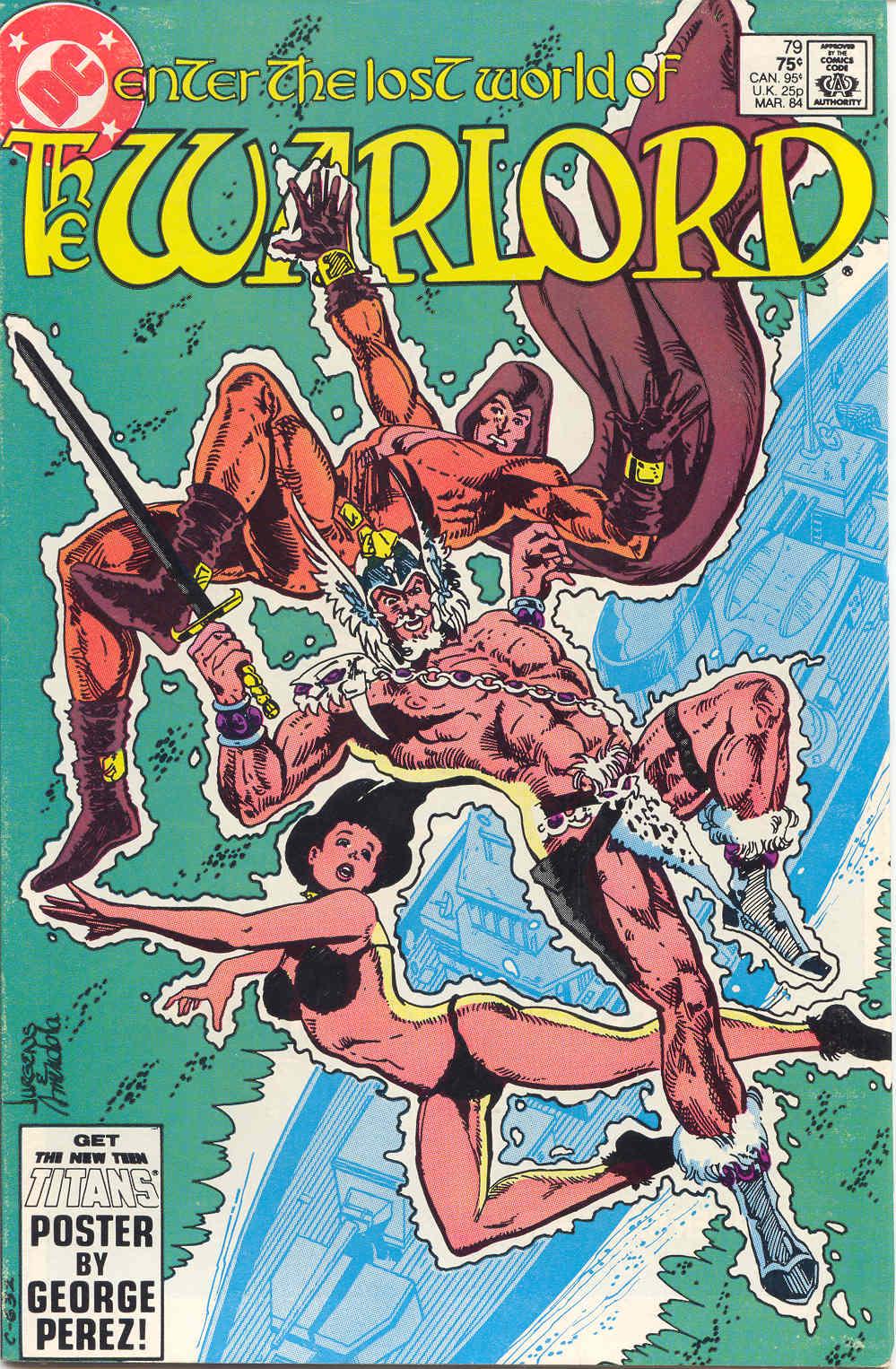 Warlord (1976) 79 Page 1