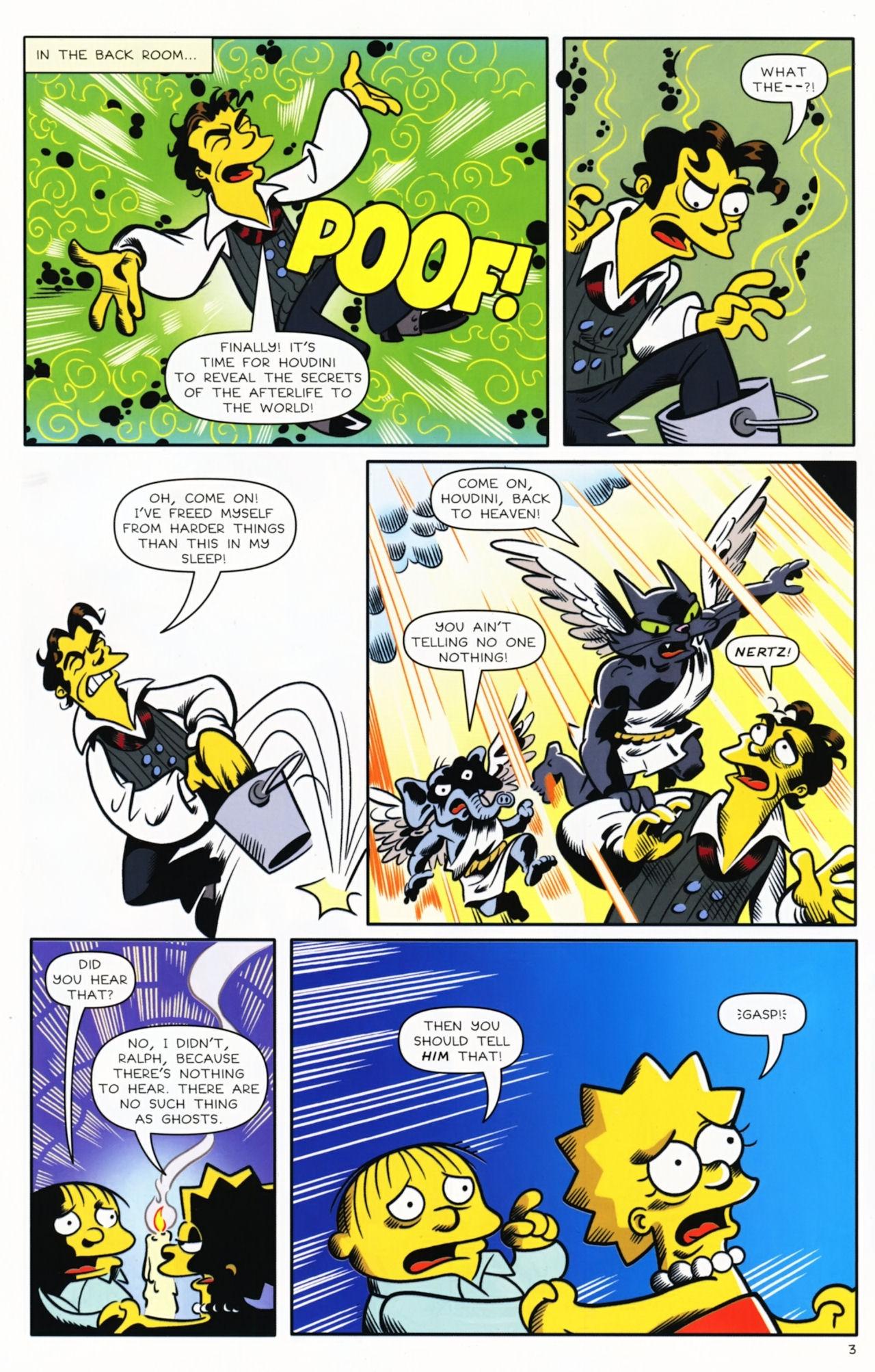 Read online Bongo Comics presents Comic Book Guy: The Comic Book comic -  Issue #5 - 5