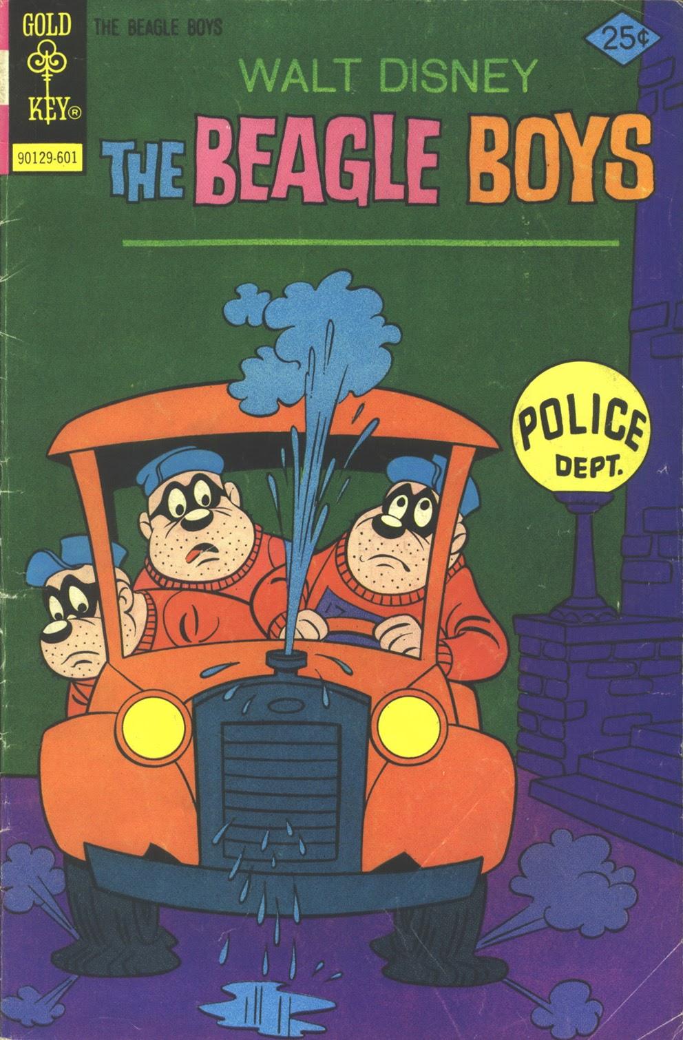 Walt Disney THE BEAGLE BOYS issue 27 - Page 1
