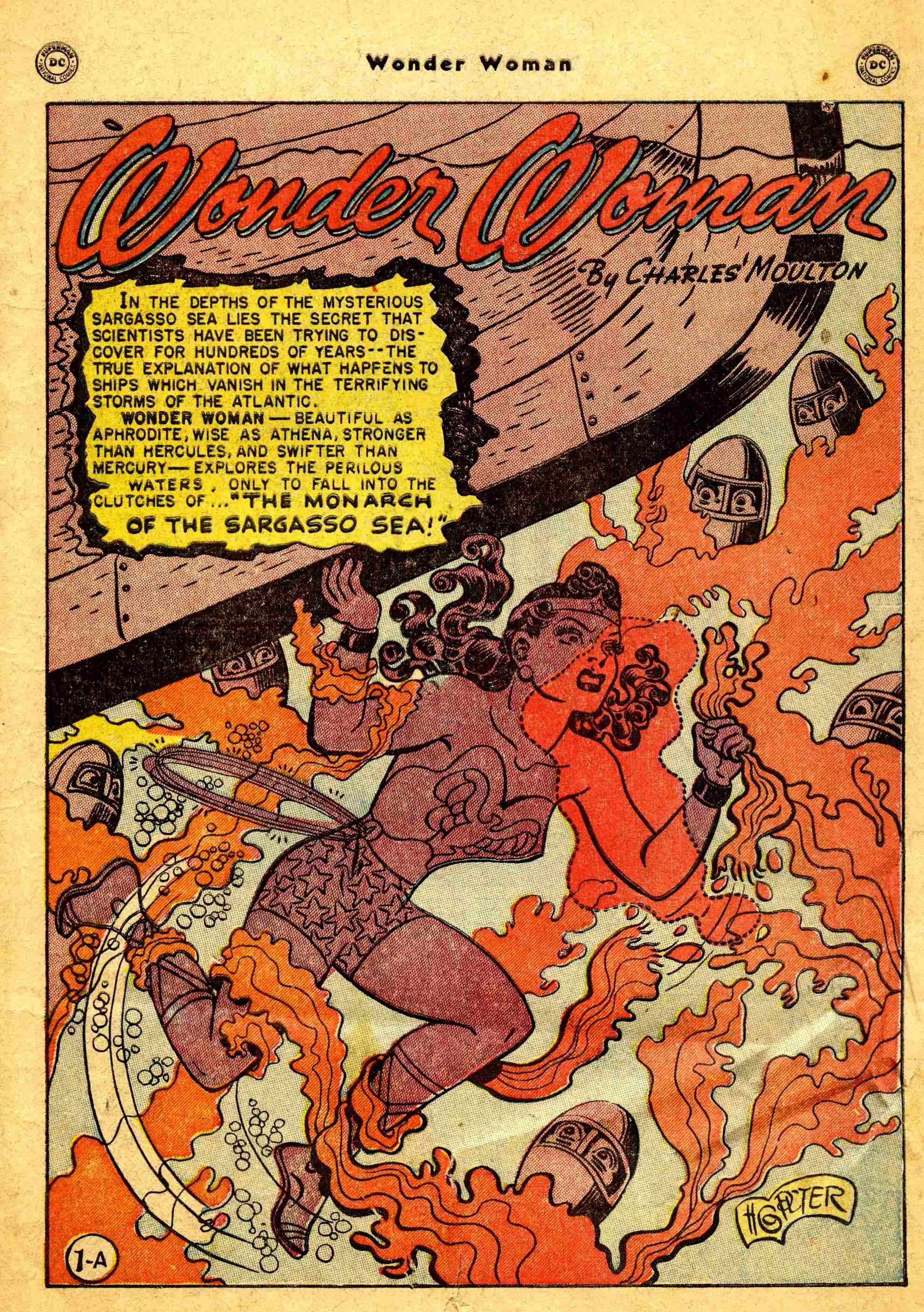 Read online Wonder Woman (1942) comic -  Issue #44 - 2