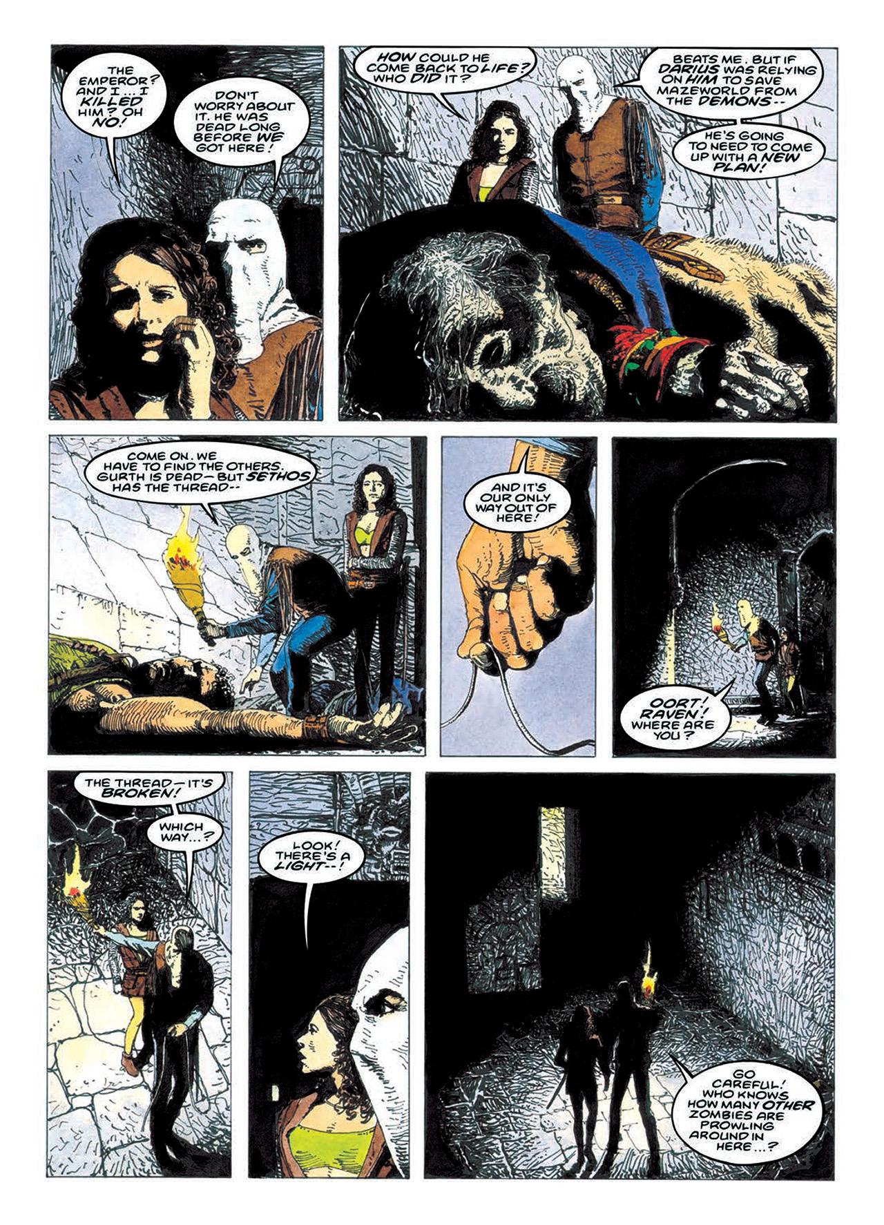 Read online Mazeworld comic -  Issue # TPB - 149