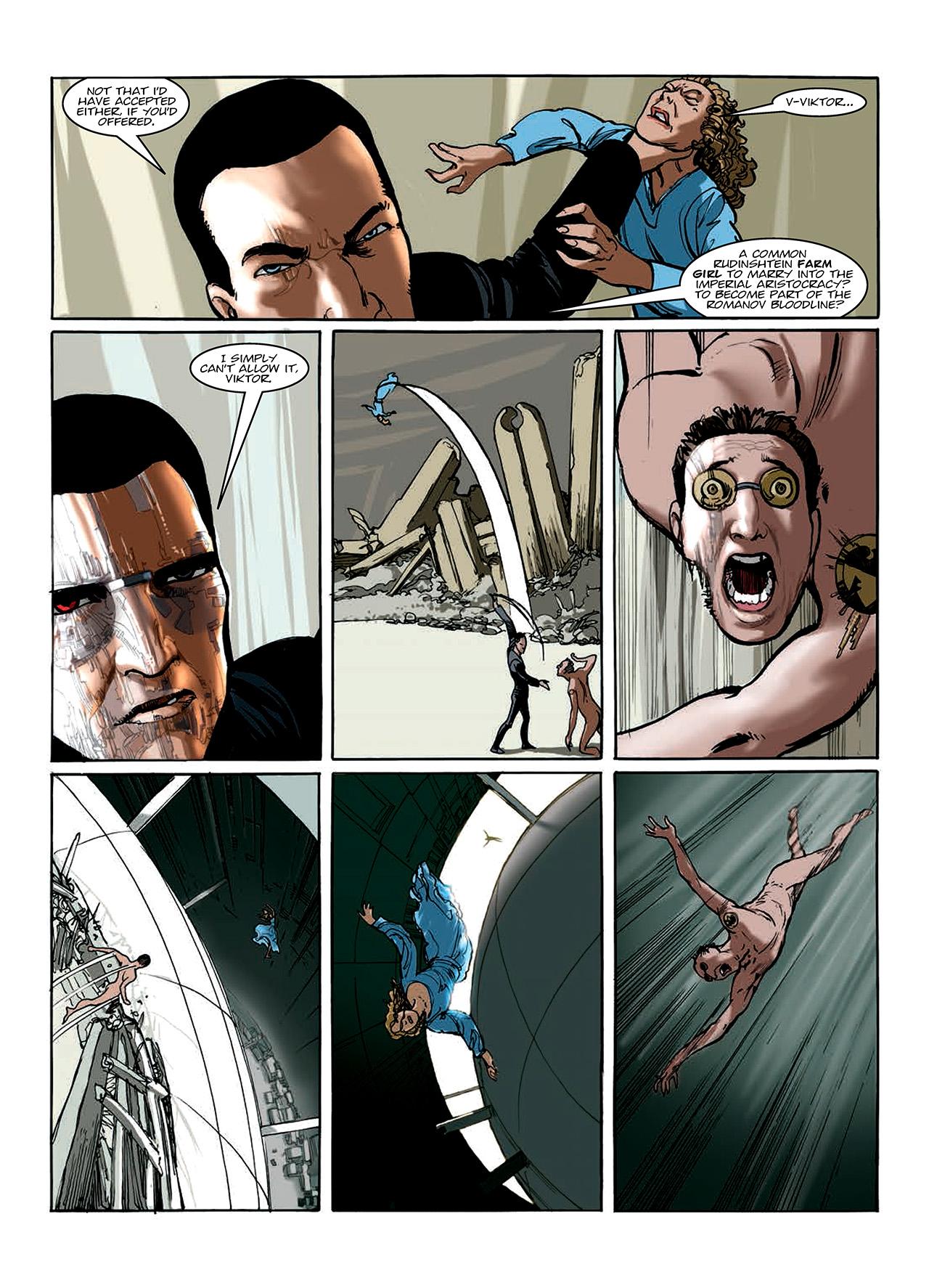 Read online Nikolai Dante comic -  Issue # TPB 10 - 101