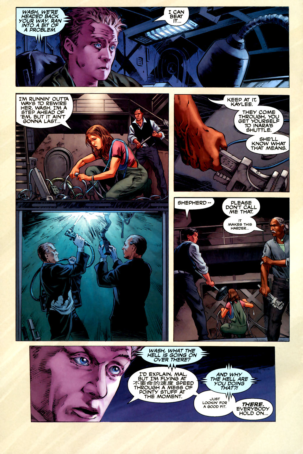 Read online Serenity comic -  Issue #3 - 18