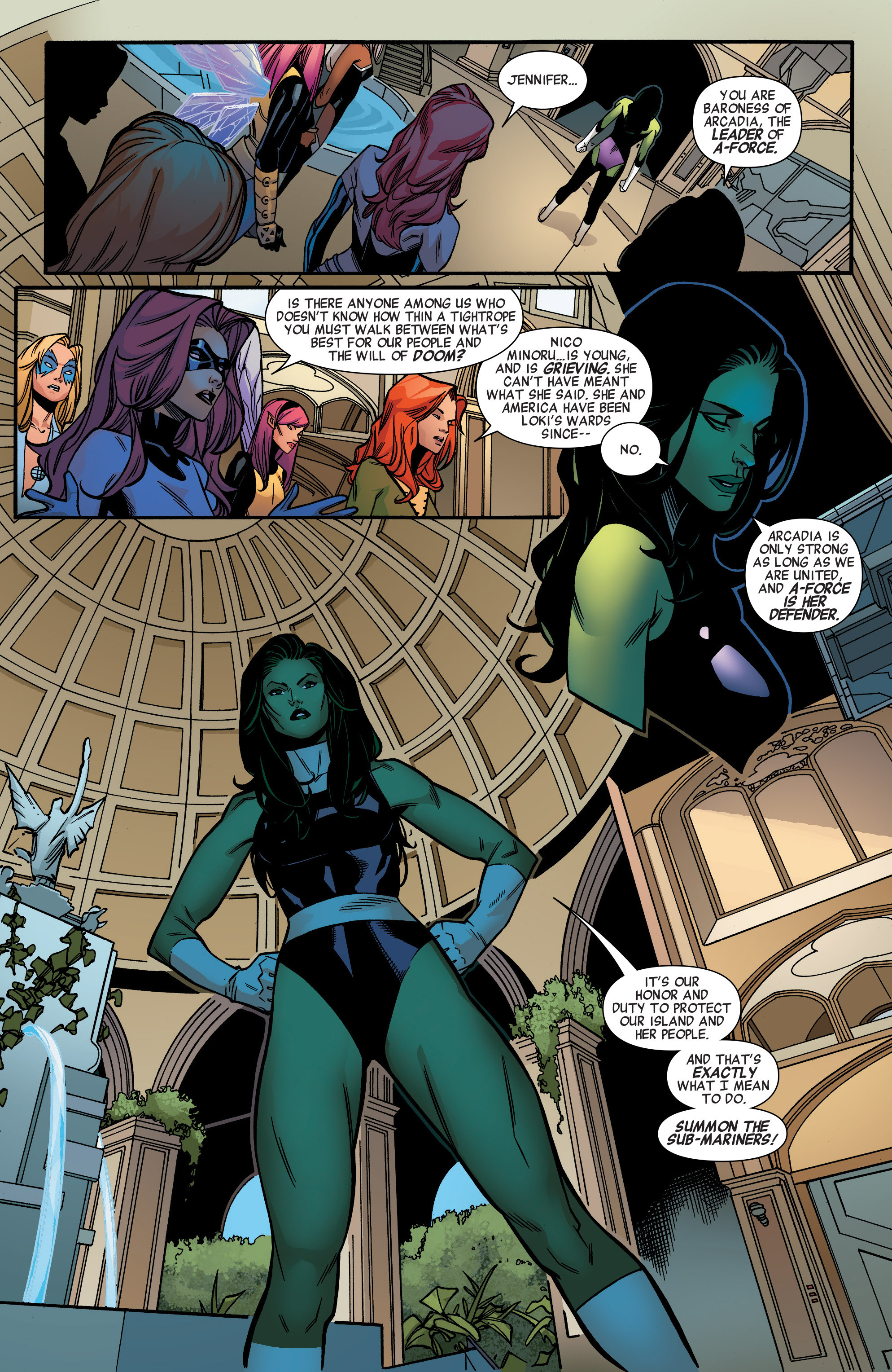 Read online A-Force (2015) comic -  Issue #1 - 17