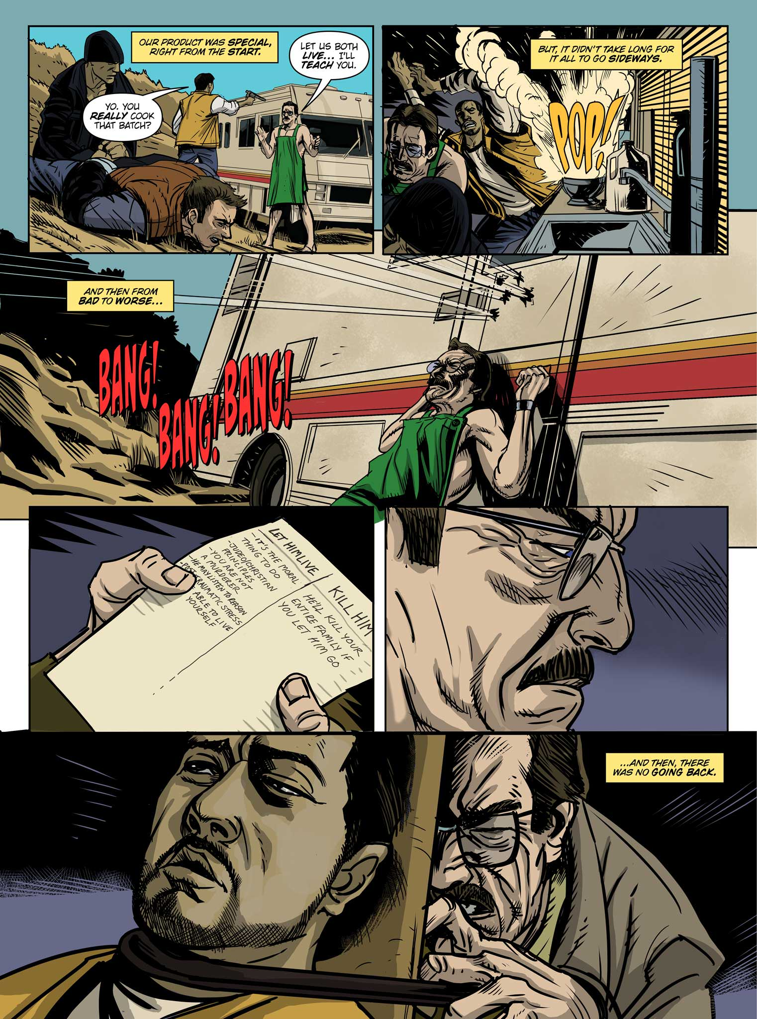 Read online Breaking Bad: All Bad Things comic -  Issue # Full - 4