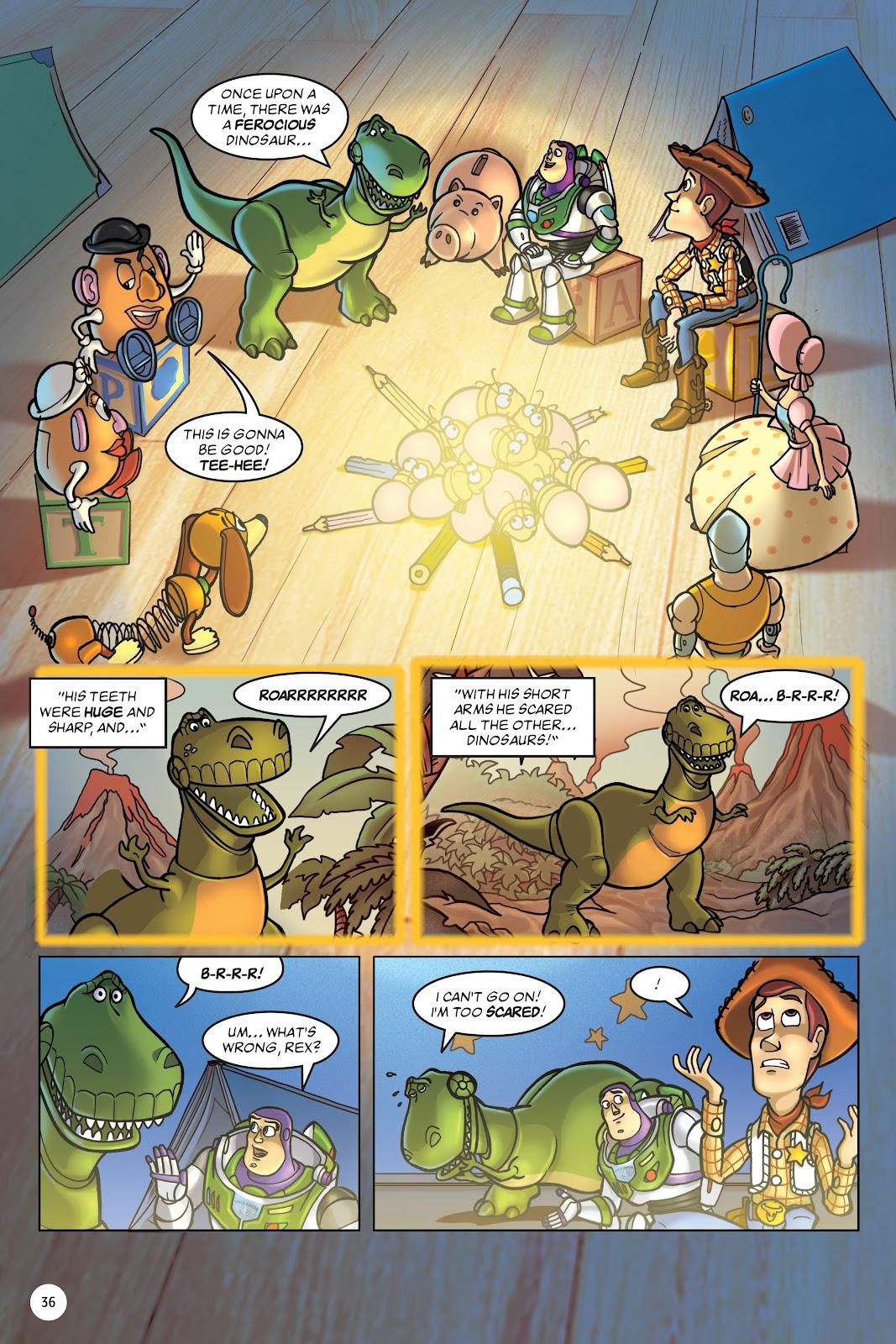 Read online DISNEY·PIXAR Toy Story Adventures comic -  Issue # TPB 1 (Part 1) - 36