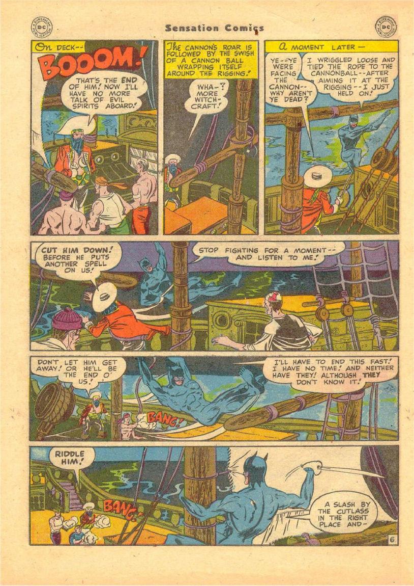 Read online Sensation (Mystery) Comics comic -  Issue #70 - 47