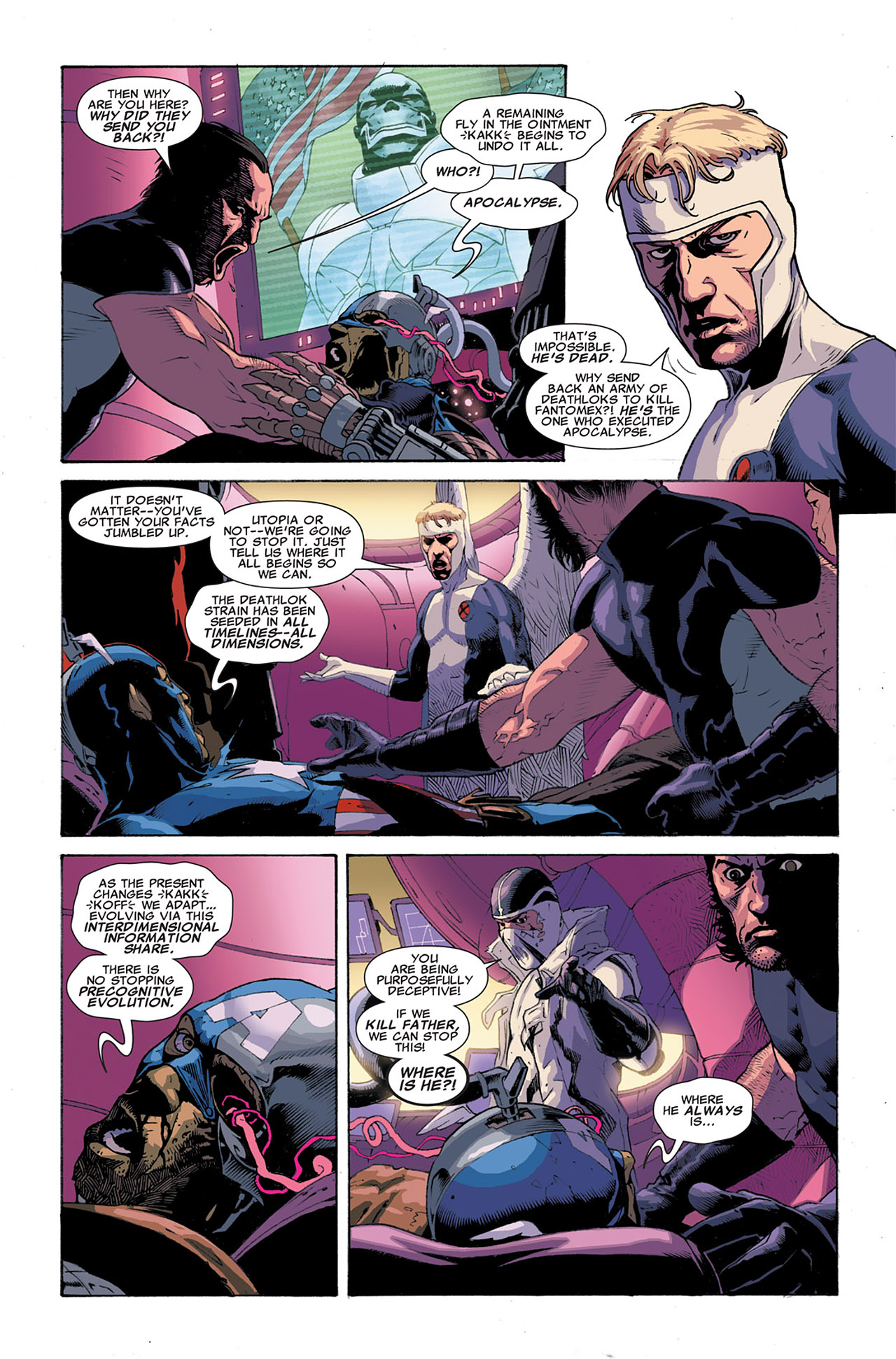 Read online Uncanny X-Force (2010) comic -  Issue #6 - 22