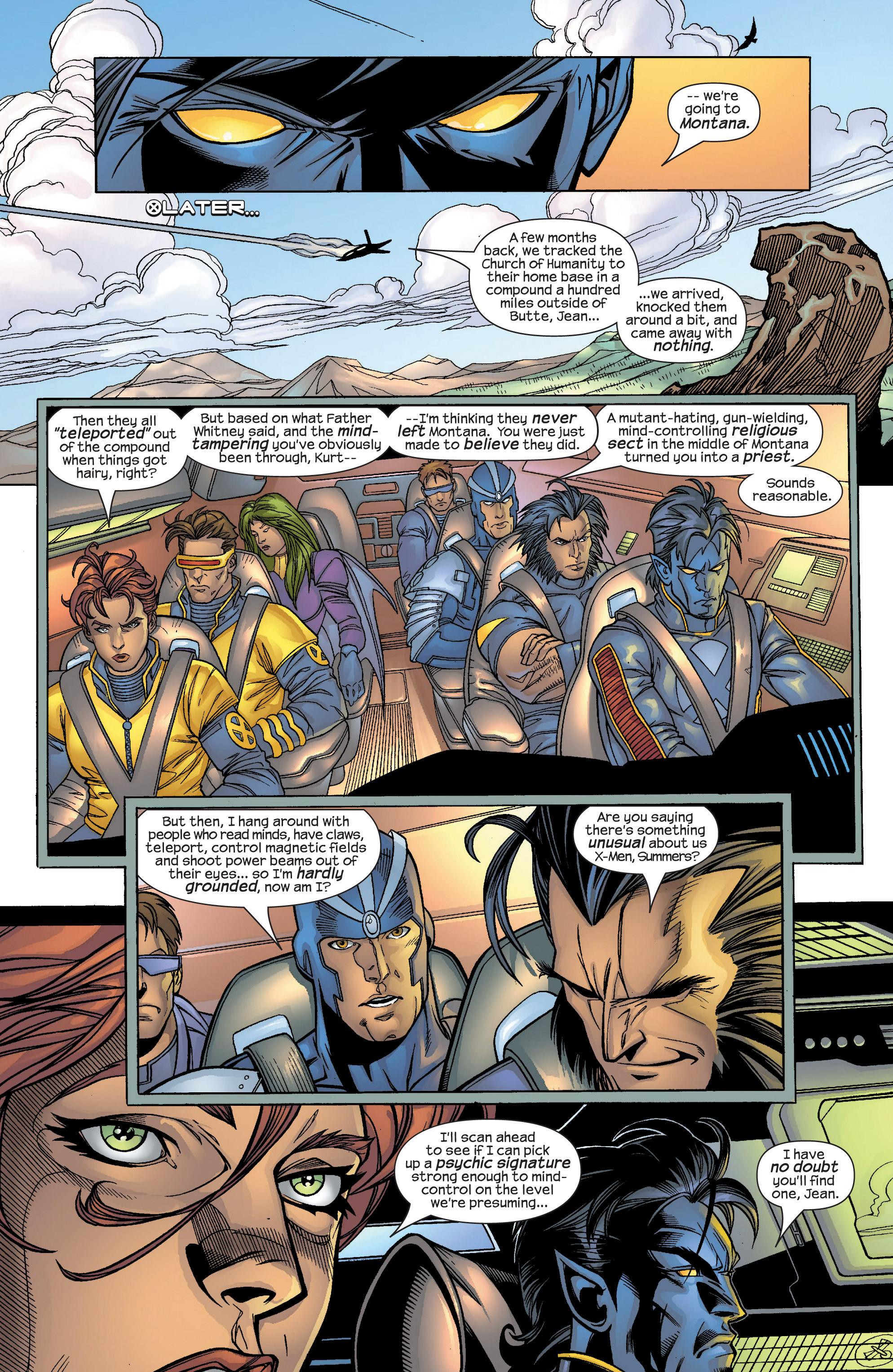Read online Uncanny X-Men (1963) comic -  Issue #424 - 7