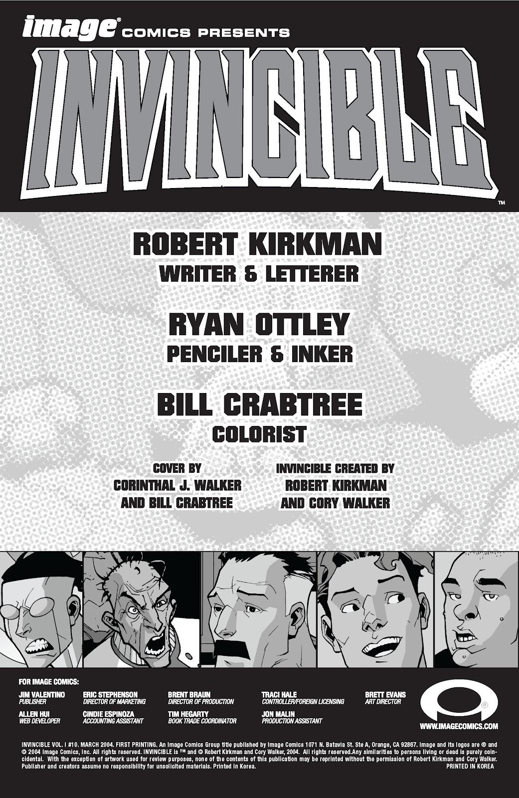 Invincible (2003) 10 Page 2