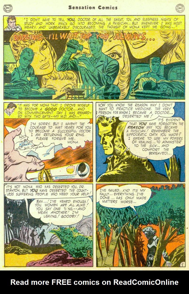 Read online Sensation (Mystery) Comics comic -  Issue #98 - 24