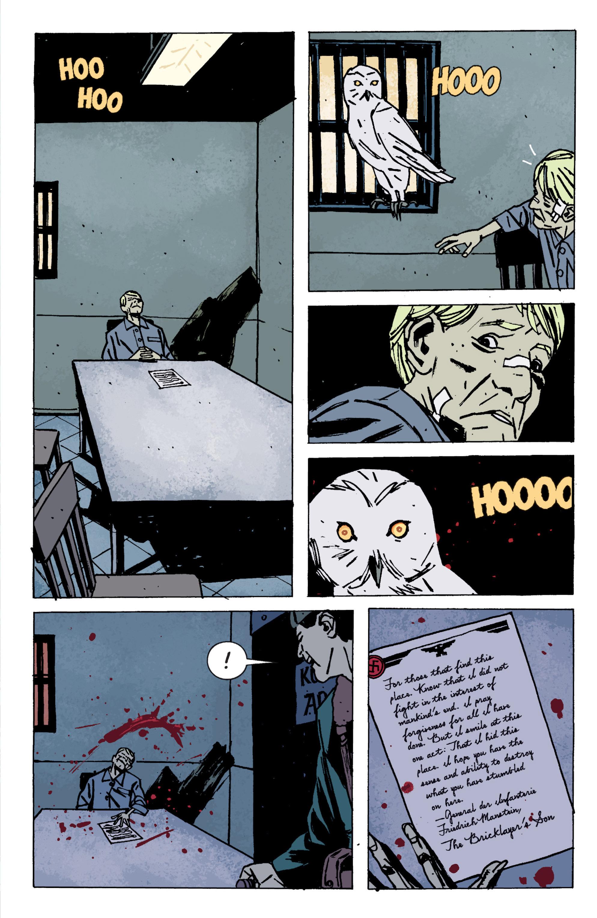 Read online B.P.R.D. (2003) comic -  Issue # TPB 9 - 104
