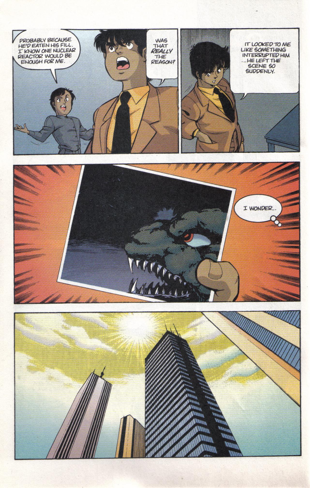 Read online Dark Horse Classics: Terror of Godzilla comic -  Issue #3 - 8