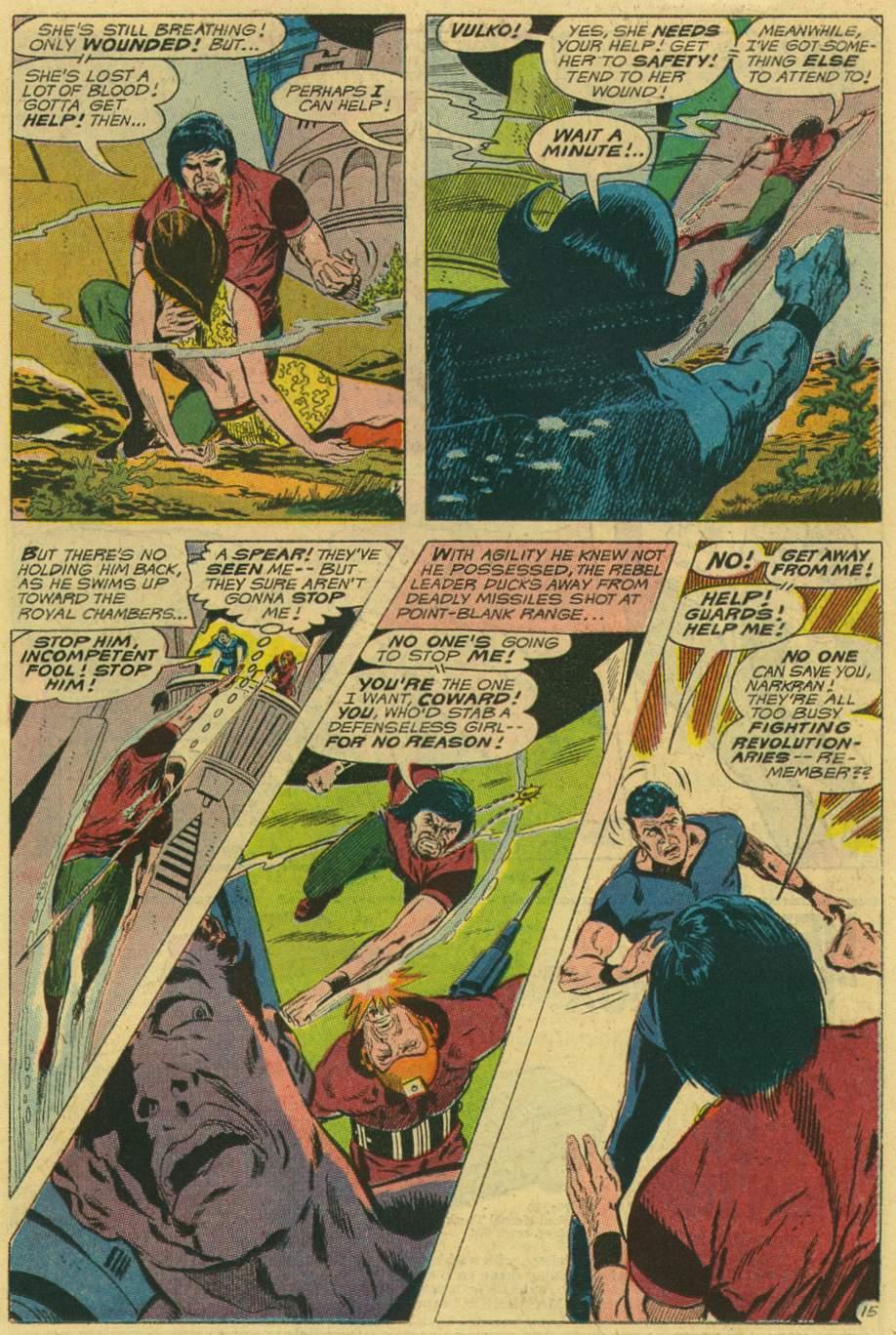 Read online Aquaman (1962) comic -  Issue #47 - 19