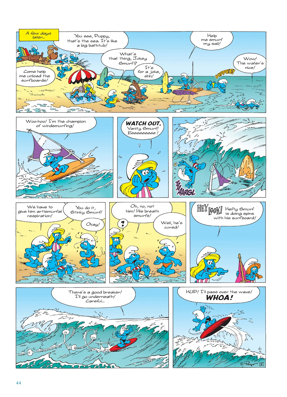 Read online The Smurfs comic -  Issue #17 - 44