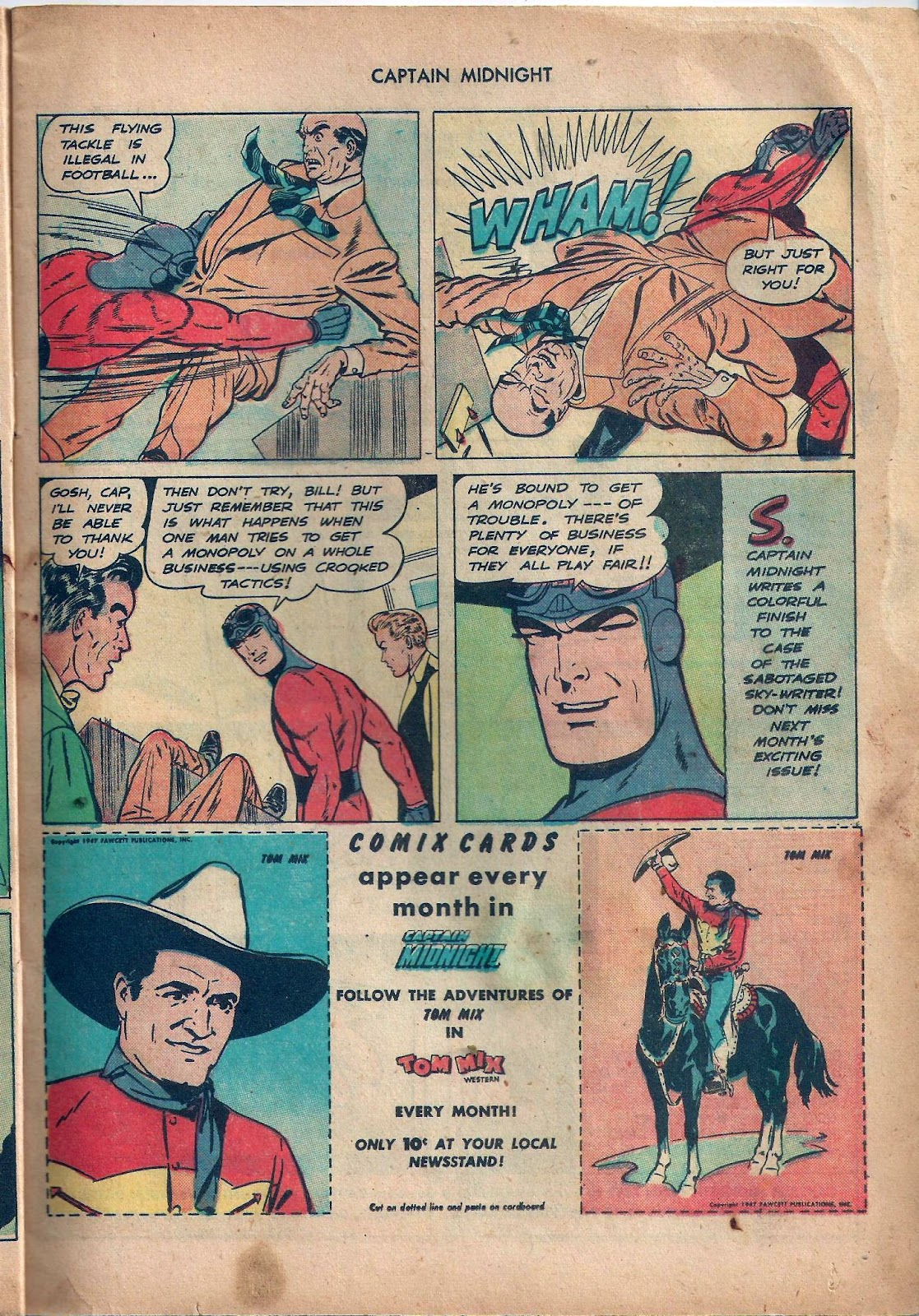 Captain Midnight (1942) issue 59 - Page 10