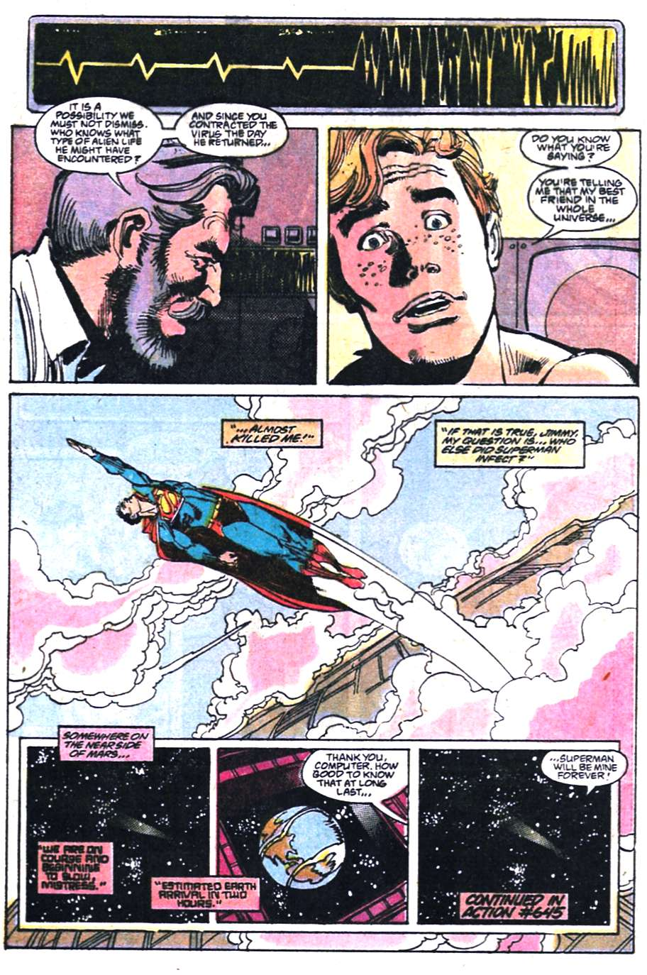 Read online Adventures of Superman (1987) comic -  Issue #458 - 23