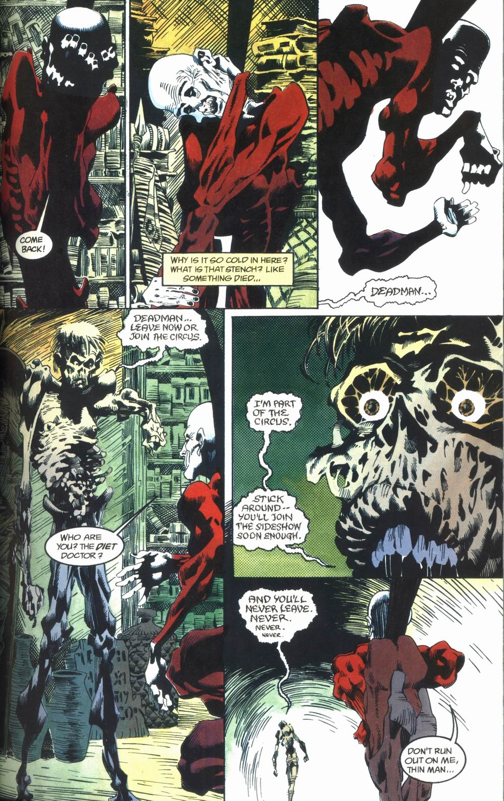 Read online Deadman: Love After Death comic -  Issue #1 - 15