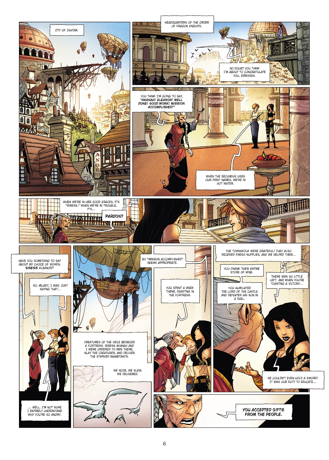 Read online Chronicles of the Dragon Knights comic -  Issue #19 - 6