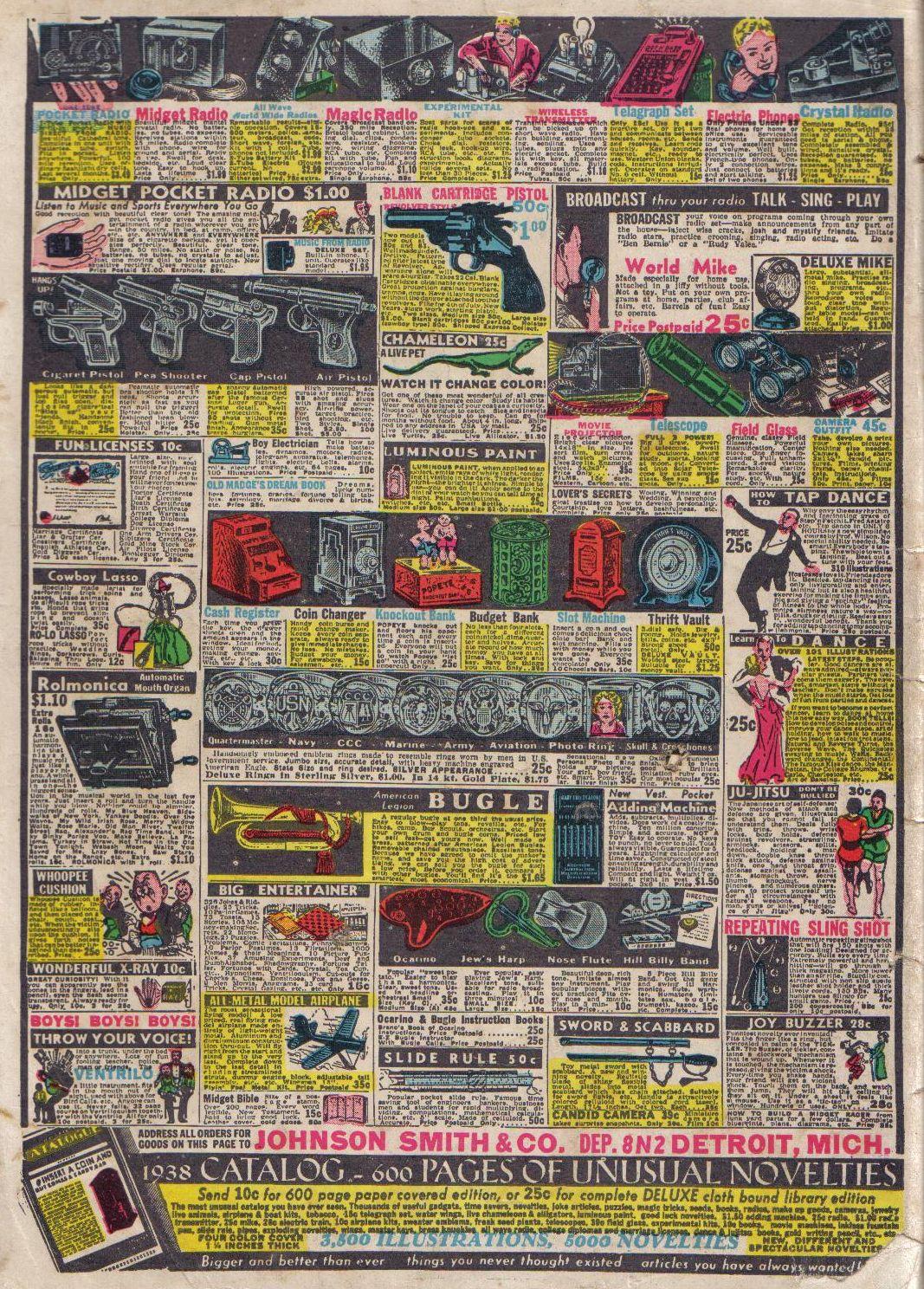 Read online Adventure Comics (1938) comic -  Issue #24 - 68