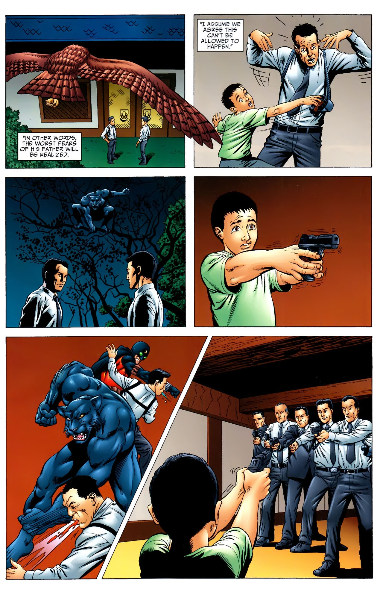 Read online JSA 80-Page Giant 2011 comic -  Issue # Full - 20